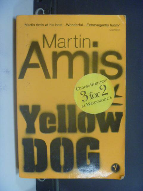 ~書寶 書T5/原文小說_NRC~Yellow dog_Martin Amis ~  好康