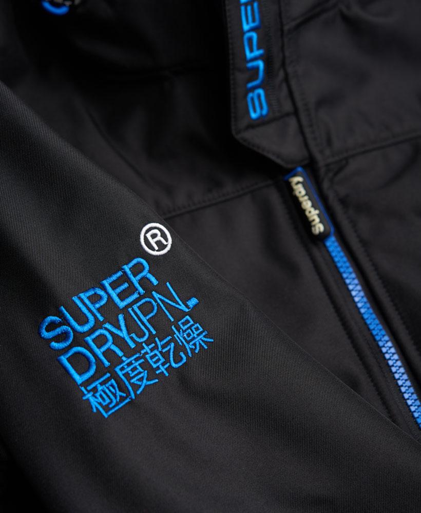 英國名品 代購 極度乾燥 Superdry Windtrekker 男士風衣戶外休閒外套 防水 黑色/寶藍色 5