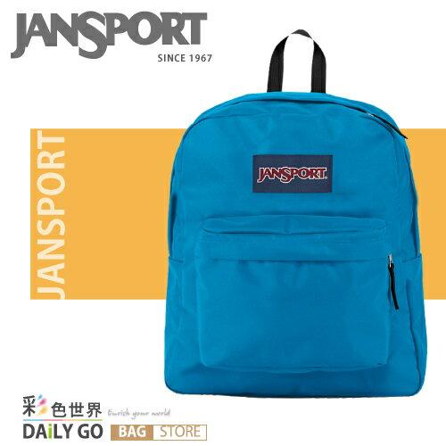 (小款包) JANSPORT 後背包 20公升-土耳其藍 JS-43911-01F