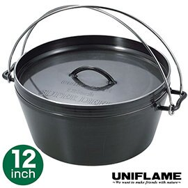 UNIFLAME DUTCH OVEN 黑皮荷蘭鍋