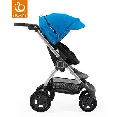 挪威【Stokke】 Scoot 推車專用套件組(賽車風格)-藍色 1