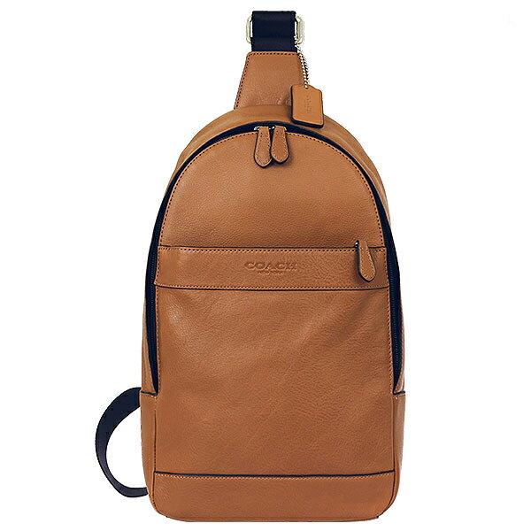 COACH F71751 男士新款皮?斜跨胸包背包時尚休閑包