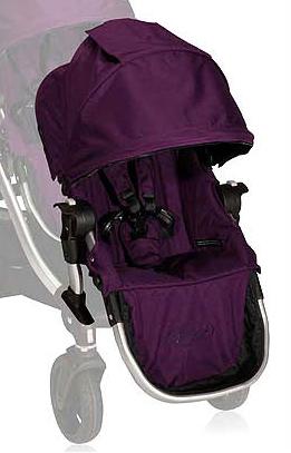 美國【Baby Jogger】City Select 推車專用雙人第二座椅(紫) - 限時優惠好康折扣