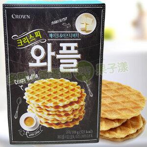 韓國CROWN 奶油鬆餅 餅乾 [KR242] - 限時優惠好康折扣