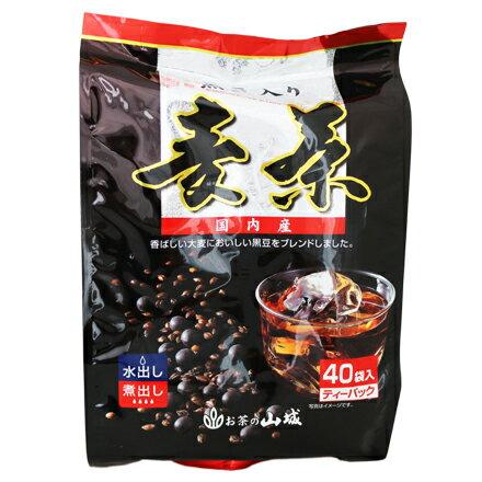 【敵富朗超巿】山城 國內產黑豆麥茶 40入 0