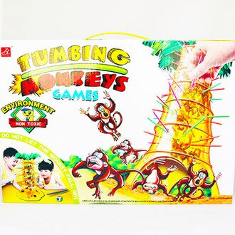 【敵富朗超巿】跳跳猴大挑戰-親子益智遊戲
