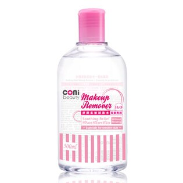 coni beauty 舒顏柔敏卸妝水-易敏專用500ml