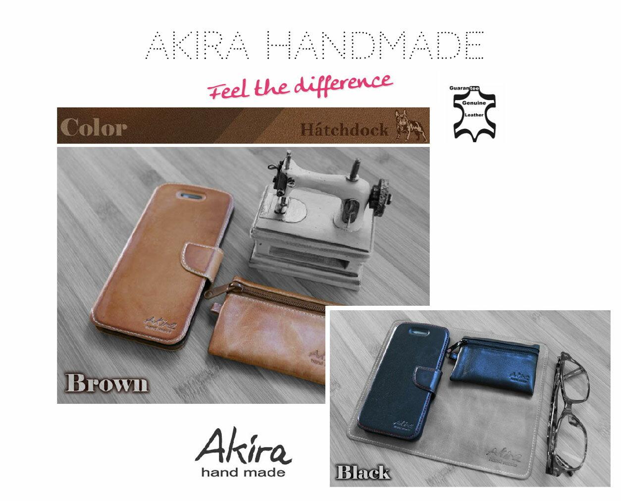 [HTC]Akira手工真皮皮套 [新款可插卡]台灣獨家特別版[D820,D826,A9,M9,M9+,EYE,D620] 2