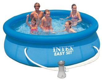 Promo Makanan dan Minuman Rakuten - intex easy set pool set-56922-blue