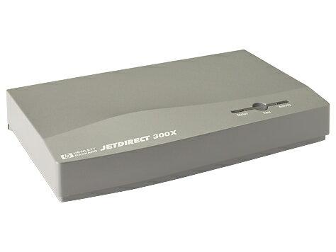 【二手良品】HP JetDirect 300X 乙太網路印表機伺服器 外接式列印伺服器