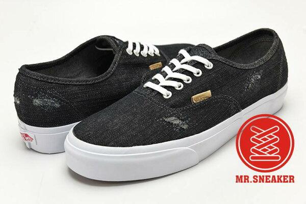 ☆Mr.Sneaker☆ Vans Authentic California 破壞 丹寧 經典/復古/休閒 滑板鞋 加州支線  男女款