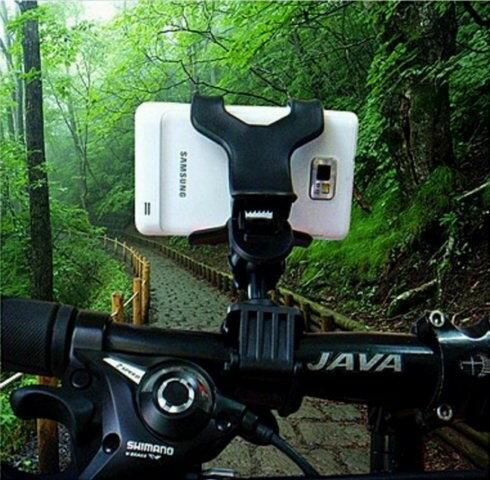【意生】可360度四爪式四方型導航手機架 自行車腳踏車機車重機摩托車電動車 寶可夢pokemon go神奇寶貝 車架