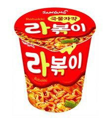 【橘町五丁目】韓國 三養半湯拌麵辣炒年糕風味杯麵-65g