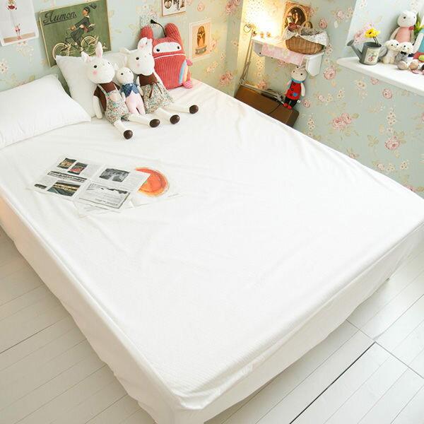 【防水】抗菌防?防污/床包式保潔墊/雙人/台灣製/品質優異 - 限時優惠好康折扣