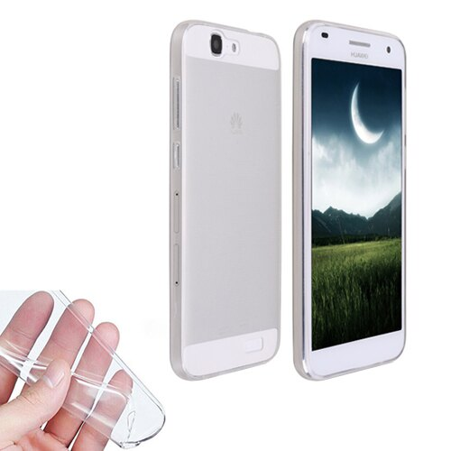 FUNDA CARCASA DE GEL TPU SILICONA TRANSPARENTE ULTRA-THIN 0,3 MM PARA HUAWEI ASCEND G7 0