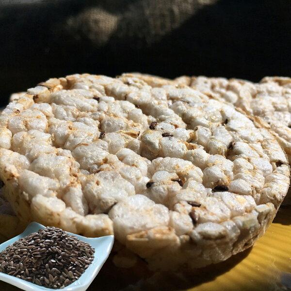 【萊斯飯店】健康有機糙米餅亞麻子  素食