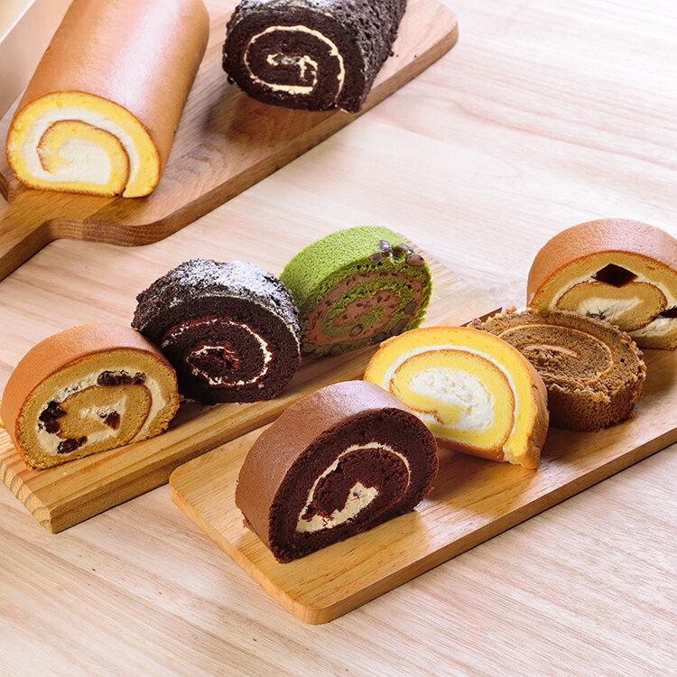 日式手作蛋糕捲切片組(6片)★彌月禮 試吃組★食尚玩家、蘋果日報 等推薦【布里王子】 0