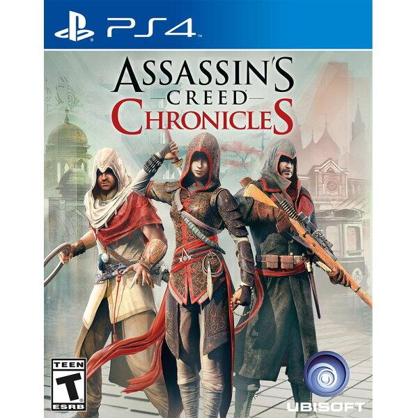 PS4 刺客教條:編年史三部曲 英文美版 Assassin's Creed Chronicles