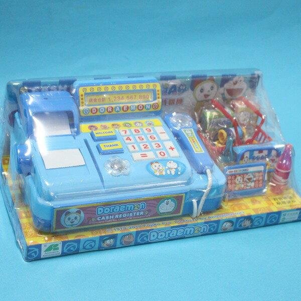 哆啦A夢電動收銀機 T972 扮家家酒玩具(附電池)/一個入{促350}~東匯 授權商品
