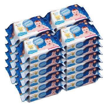 日本【Combi】 Kuma Kun 海洋深層水嬰兒柔濕巾(80抽24入) - 限時優惠好康折扣