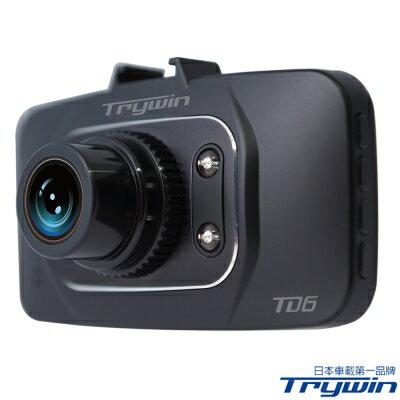 【純米小舖】Trywin TD6 1080P Full HD 180度極致廣角行車紀錄器-快