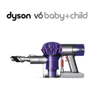 Dyson V6 Baby+Child 無線除塵蟎機-紫色 ★附全配共4吸頭 全機HEPA等級過濾效果 公司貨2年保固