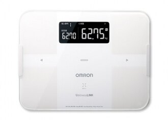 OMRON歐姆龍體重體脂肪計 HBF-254C(白色),獨家送歐姆龍運動毛巾一條及專用提袋 0