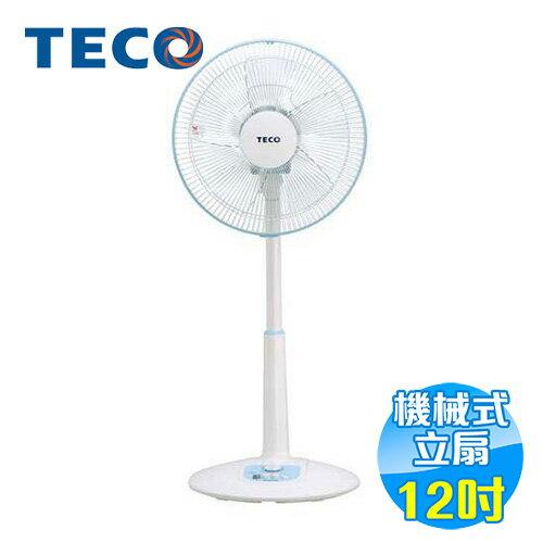 東元 TECO 12吋電風扇 XA1214AB