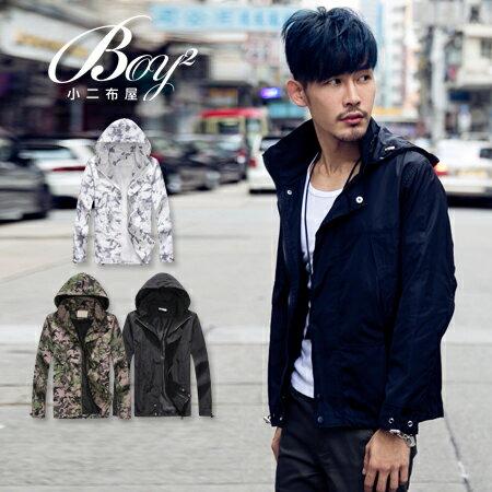 ☆BOY-2☆【NQ98038】軍裝防風迷彩風衣外套 1