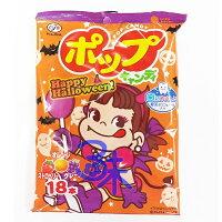 萬聖節Halloween到(日本) Fujiya 不二家POP水果棒棒糖(萬聖節版) 1包 104.4 公克 (18支) 特價 78 元【4902555125619 】(萬聖節糖果)