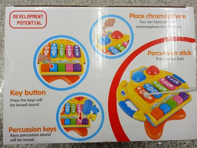 『121婦嬰用品館』 多功能學習敲琴 2