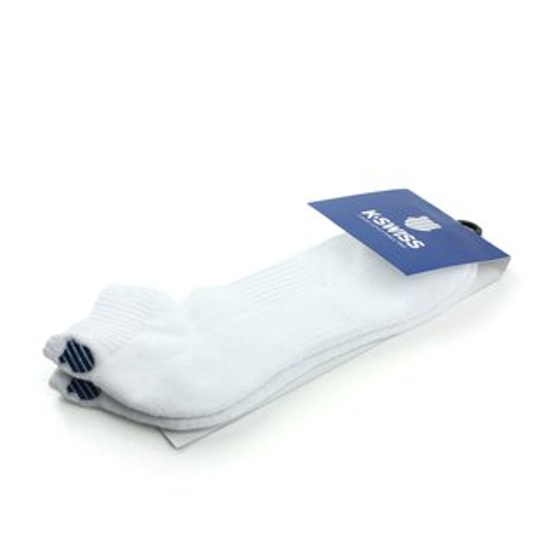K-SWISS 襪子 棉質 白 noA01