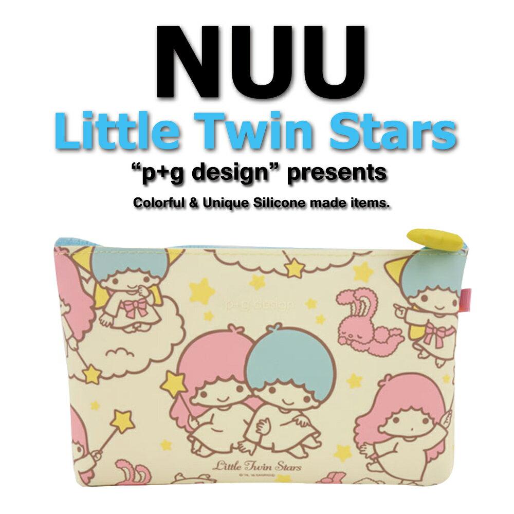 日本空運進口 p+g design NUU X Little Twin Star 2016 繽紛矽膠拉鍊零錢包 0