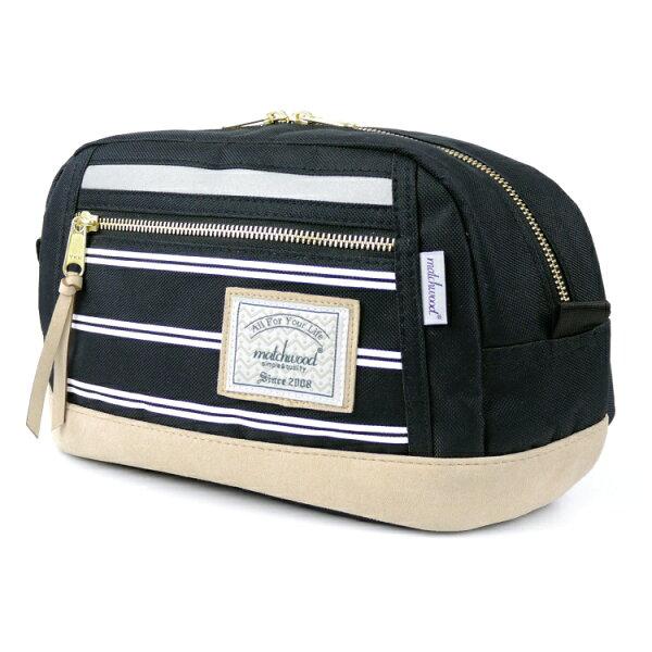 REMATCH - Matchwood Density 腰包 條紋黑色款 斜背包 側背包 隨身包 胸前包 3M反光/ 單車運動 / 旅遊隨身 / 美式休閒 / 運動 / Outdoor / Jansport / Herschel 可參考