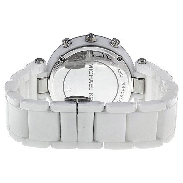 美國Outlet正品代購 MichaelKors MK 陶瓷 水鑽 三環 手錶 腕錶 MK5848 4