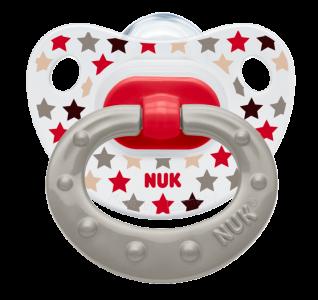 『121婦嬰用品館』NUK 印花矽膠安撫奶嘴 - 一般(2入) 0