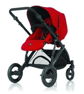 Britax - B-DUAL 雙人雙向手推車 (紅) 加購Britax - Baby-Safe提籃享特價優惠!