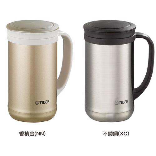 【虎牌】0.5L不銹鋼真空茶濾網辦公杯 MCM-T050