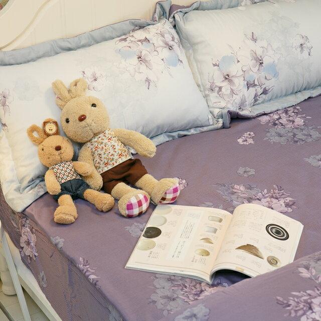 天絲床組  紫花風鈴木 多種尺寸組合賣場 100%木漿纖維 5