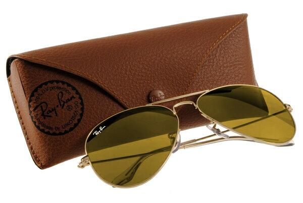 Ray Ban 雷朋 金邊黃 RB3025 太陽眼鏡 水銀鍍膜