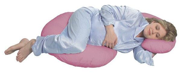 桃紅色 孕婦枕全新 Leachco Snoogle 美國製造