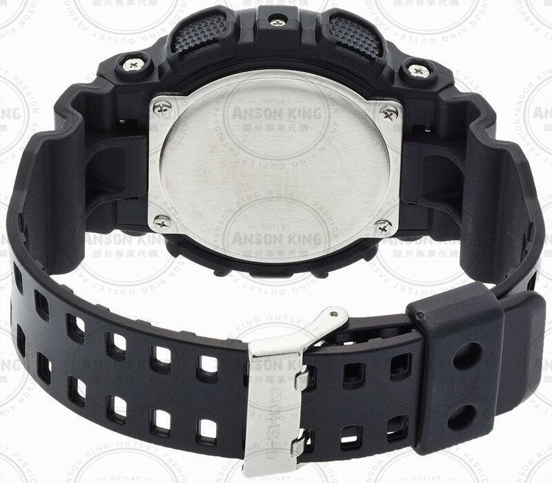 國外代購 CASIO G-SHOCK GA-100CM-4A 叢林迷彩 防水 手錶 腕錶 電子錶 男女錶 迷彩紅 3