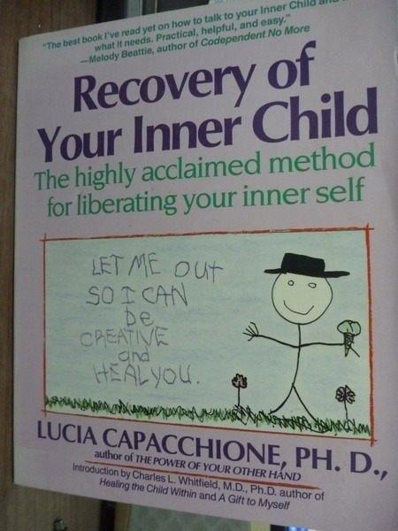 ~書寶 書T7/心理_PHJ~Recovery of Your Inner Child_L