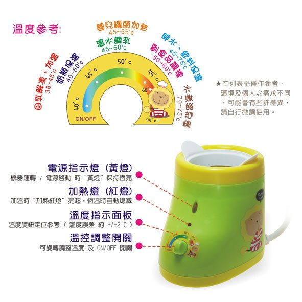 Butter Lion奶油獅 - 溫奶器/母乳加熱器 4