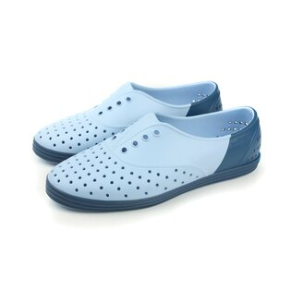 native JERICHO 洞洞鞋 灰藍 女款 no466