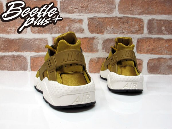 BEETLE PLUS WMNS NIKE AIR HUARACHE RUN 金色 黃色 武士 慢跑鞋 忍者鞋 女鞋 634835-700 2