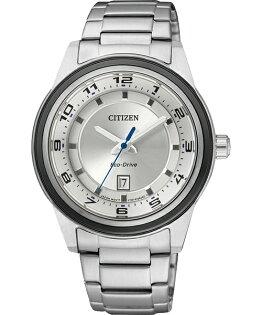 CITIZEN星辰FE1094-65A時尚百搭光動能女錶/白面36mm
