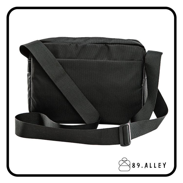 側背包 女包男包 黑色系防水包 輕量尼龍雙夾層情侶斜背包 89.Alley 3