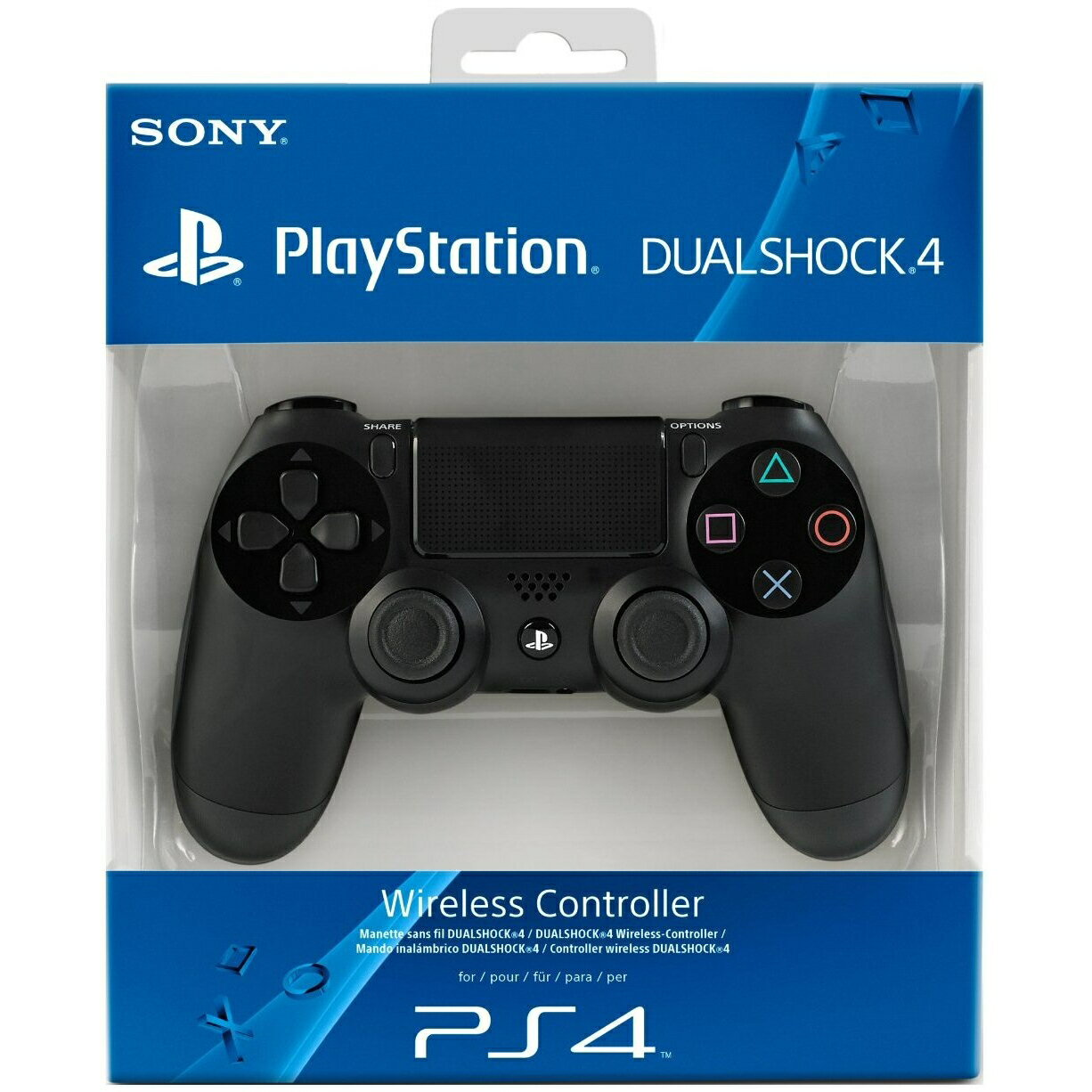 Sony PS4 DualShock 4 Controller - Black (PlayStation 4) 6