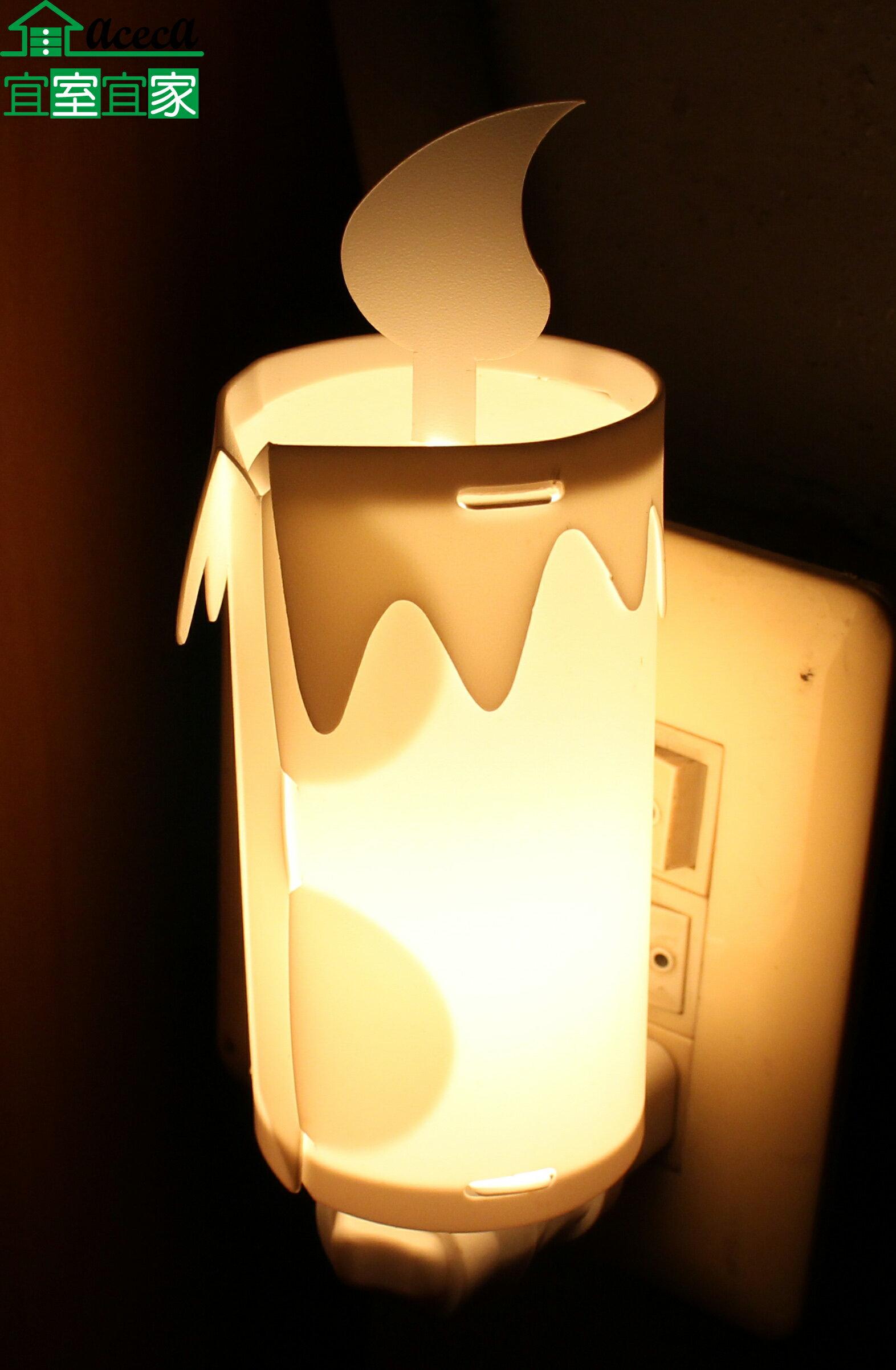 小夜燈 床頭燈 創意 造型 浪漫 夜生活 送禮 MIT 台灣製 蠟燭造型【宜室宜家CYF05W】